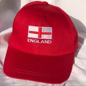 Other - England Baseball cap with velcro back mint